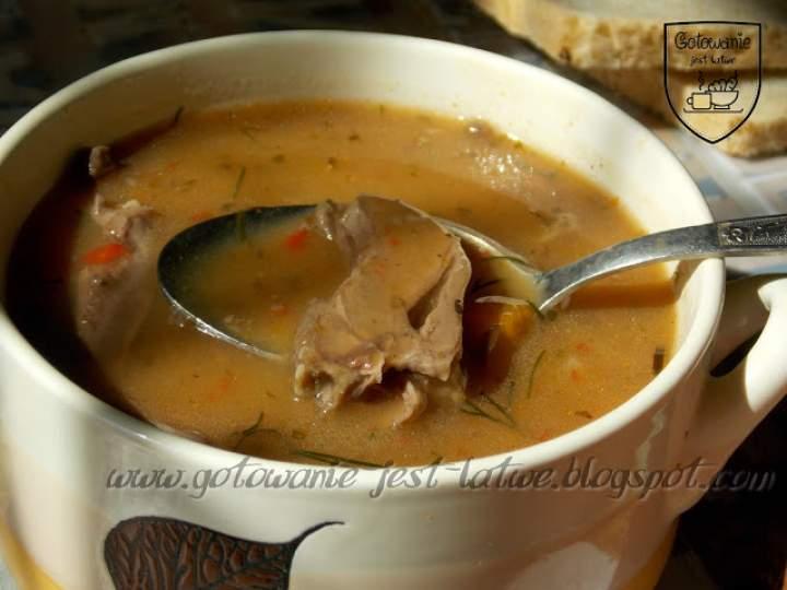 Zupa gulaszowa z serc indyczych