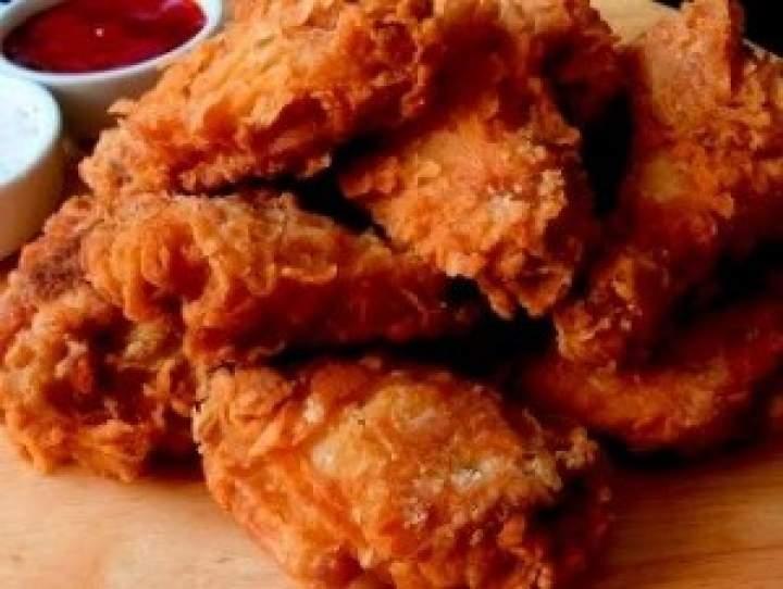 Skrzydełka a'la KFC