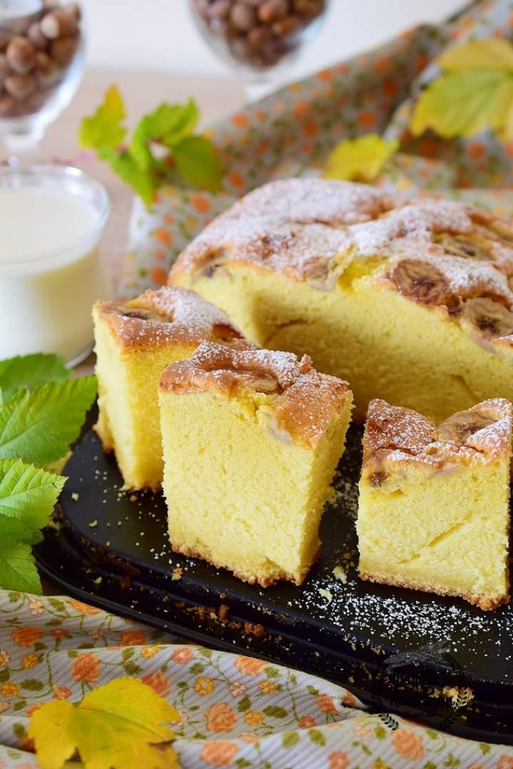 Ciasto śmietankowo-bananowe