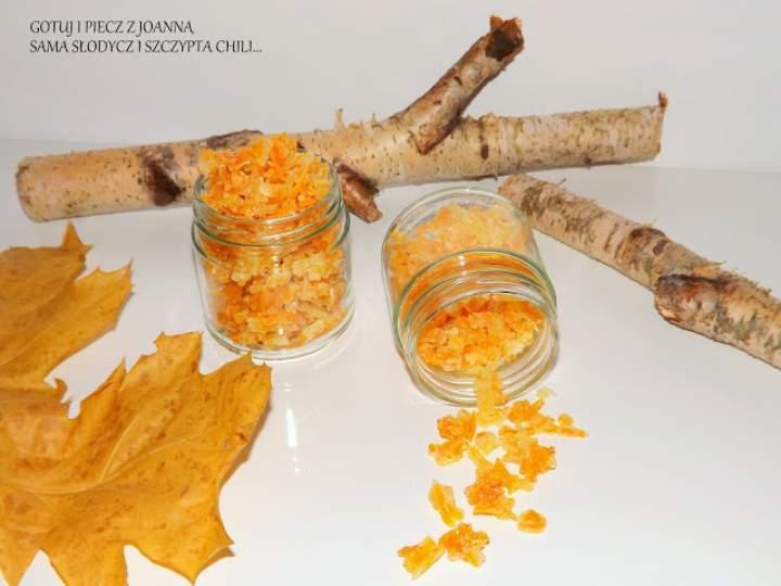 Kandyzowana skórka pomarańczowo – cytrynowa