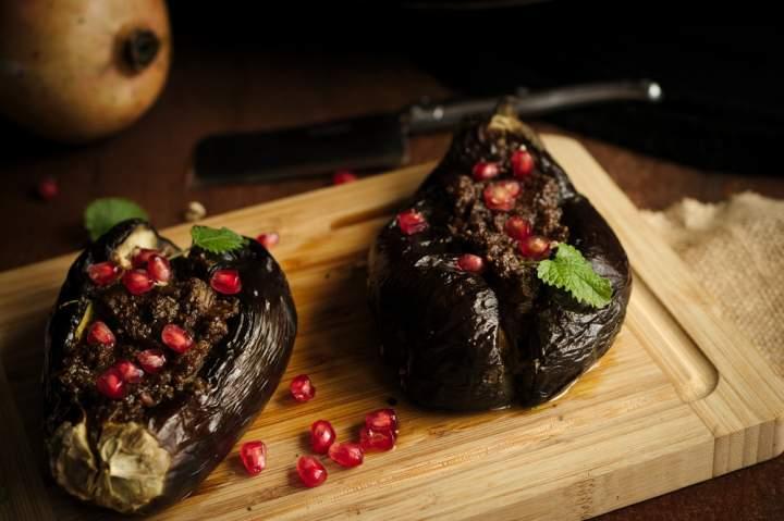 Nadziewane bakłażany po persku – Bademjan Kabab