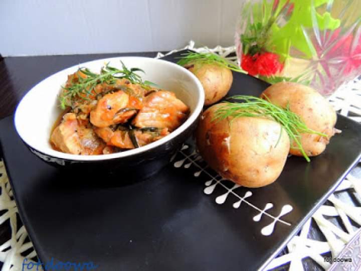 Kavarma – bułgarski gulasz z łopatki wieprzowej