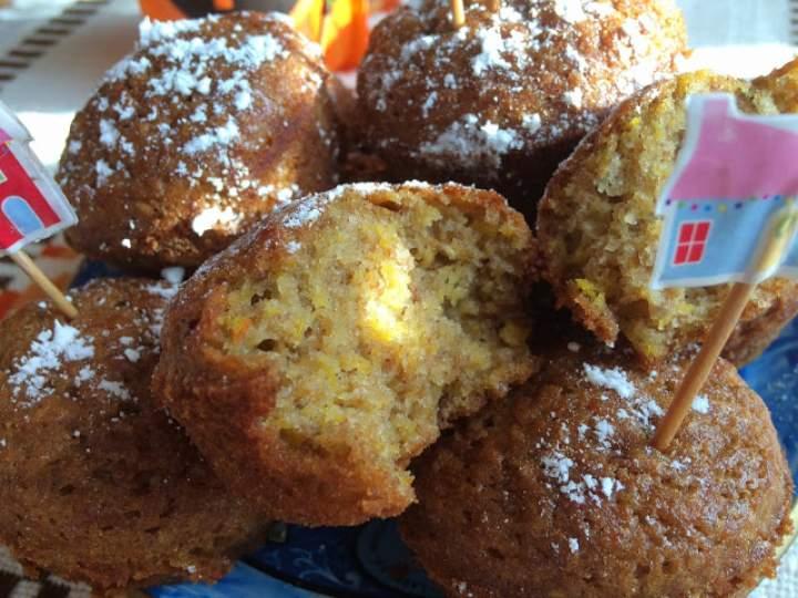 Dyniowe muffinki; muffinki z dyni