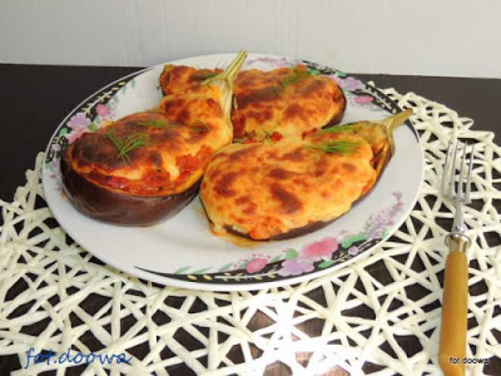 Bakłażany faszerowane z serem Kefalotiri