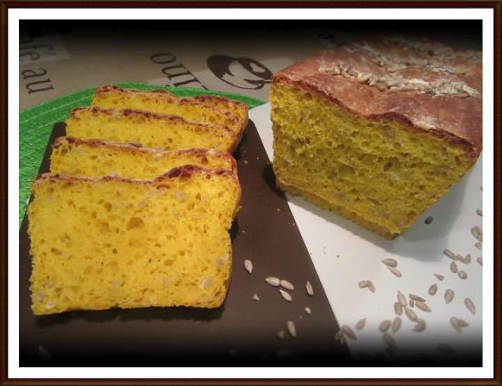 Chleb Dyniowy z Dodatkiem Słonecznika