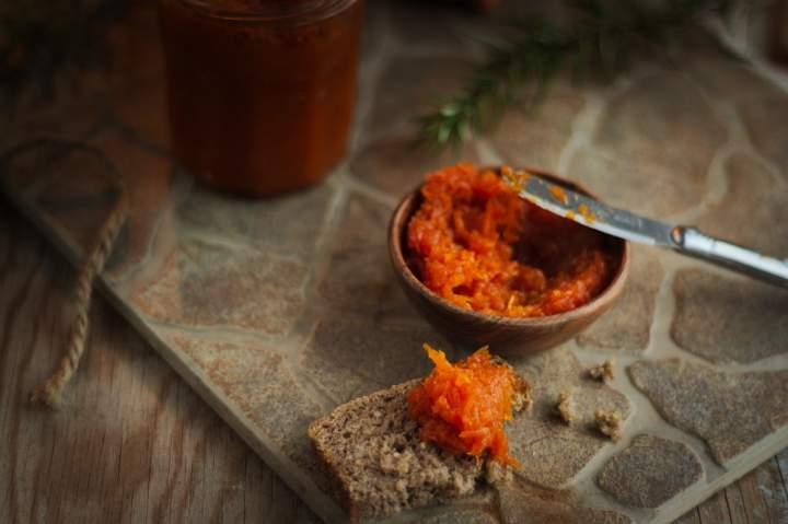 Irański dżem z marchewki – Moraba-ye Havij