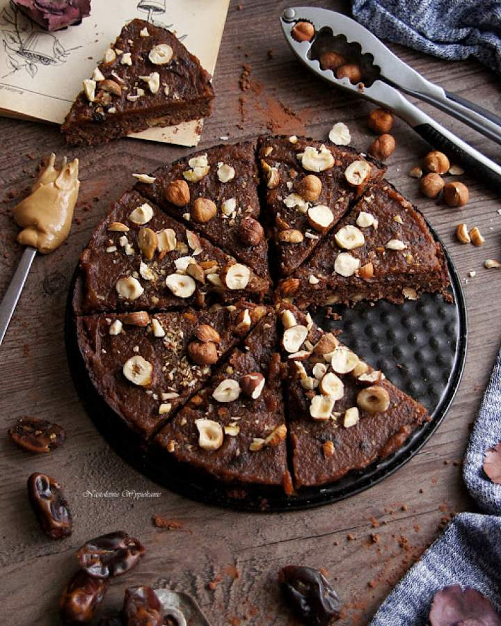 Wegańskie i bezglutenowe brownie z ciecierzycy
