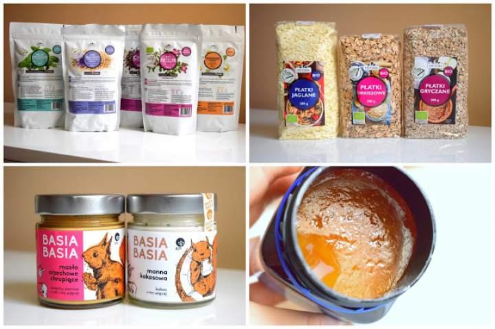 Paczka zdrowej żywności od Propharma :)