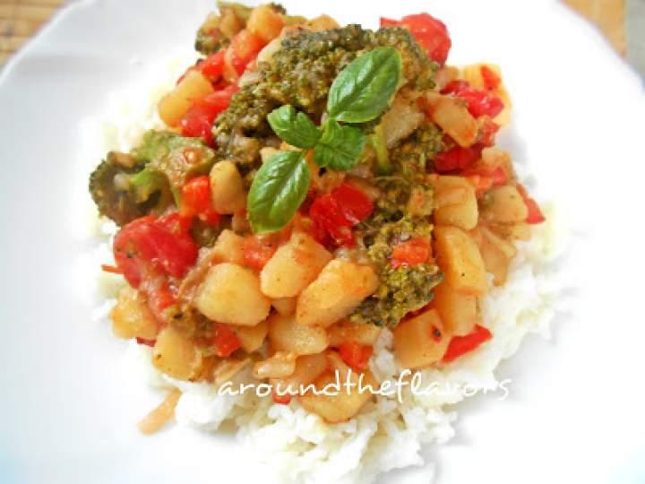 Potrawka warzywna (wegańska)