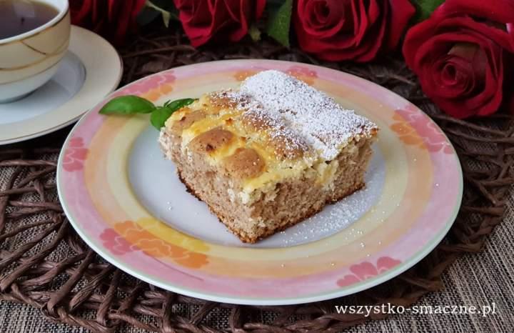 Ciasto o smaku piernikowym z serem
