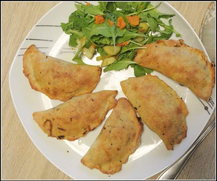 Pierogi ziemniaczane z pieca (bez glutenu)