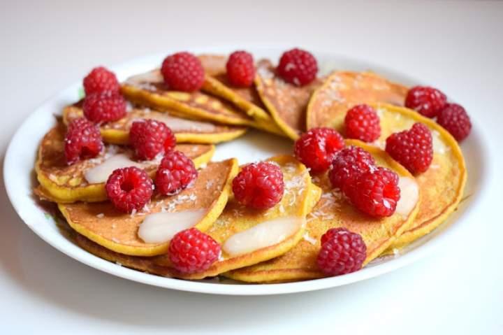 Pancakes owsiane z dynią :)
