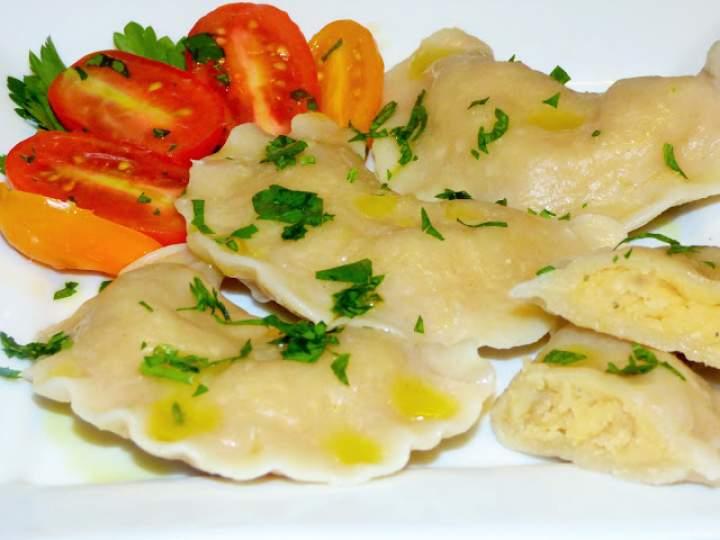 Pierogi z czerwoną soczewicą i ziemniakami
