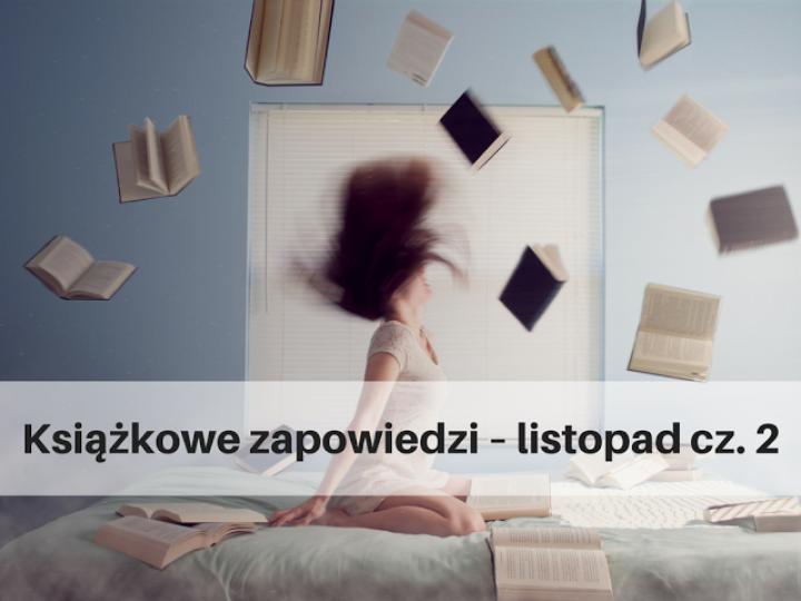 Książkowe zapowiedzi – listopad cz. 2