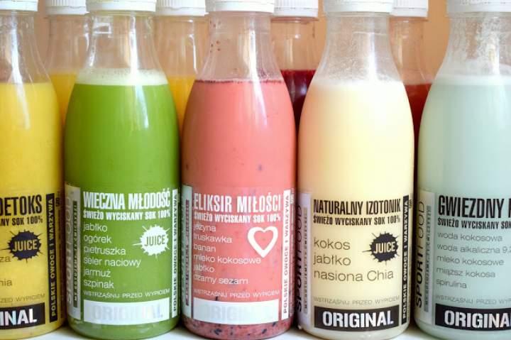 DIETA SOKOWA – recenzja świeżo wyciskanych soków SPORTFOOD :)