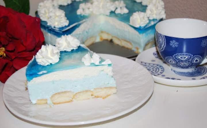 Smerfetka – ciasto bez pieczenia