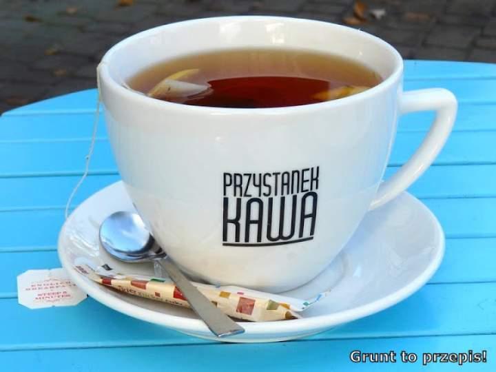 PRZYSTANEK KAWA lub herbata… po drodze na plażę