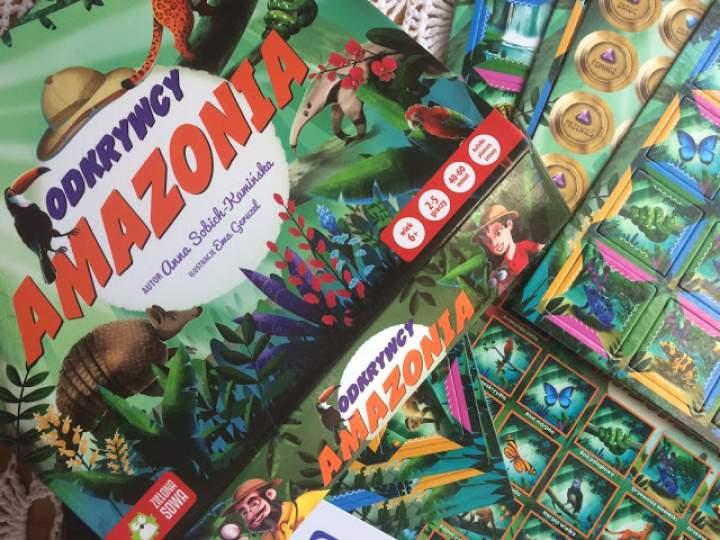 """""""Odkrywcy: Amazonia"""" – propozycja gry dla dzieci od Zielonej Sowy"""