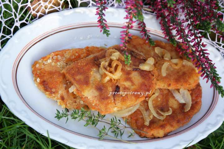 Kotlety ziemniaczano-marchwiowe