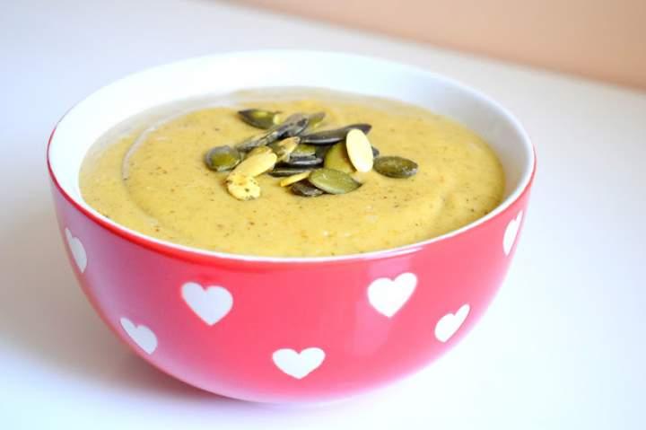 Zupa krem z pieczonego brokuła :)
