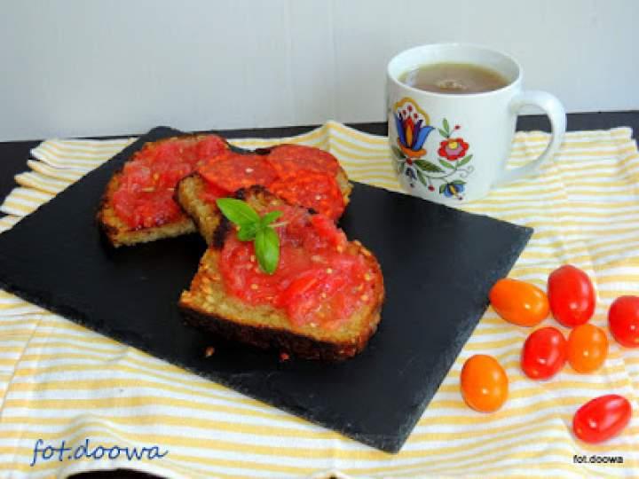 Pan con tomate czyli hiszpańska kanapka z pomidorami