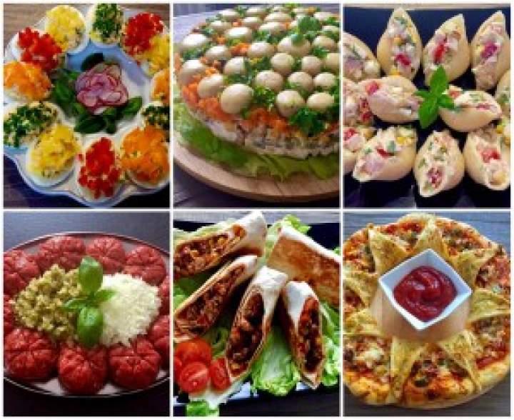 Imprezowe Hity!!! 30 pomysłów na przekąski, dania, sałatki i przystawki na przyjęcie :))