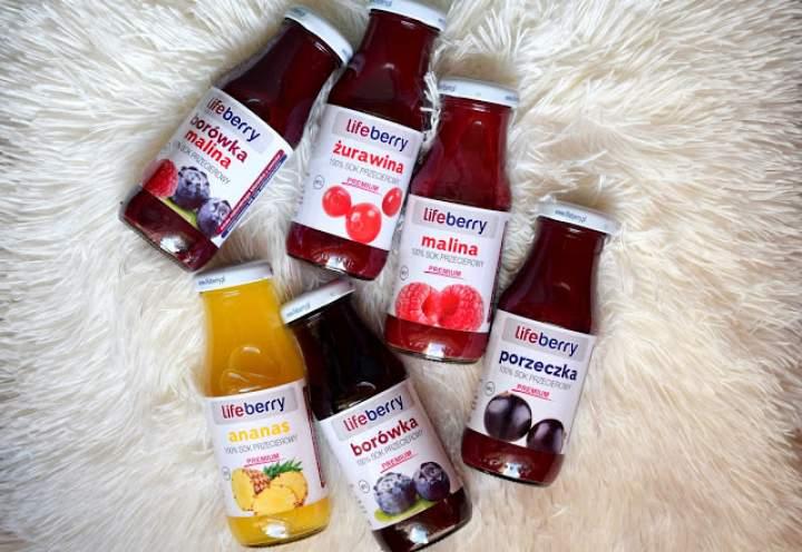 Soki przecierowe – 100% owoców :)