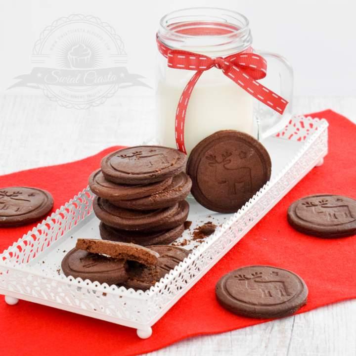 Kakaowe ciasteczka maślane