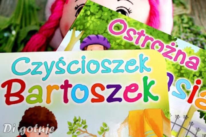 Czyścioszek Bartoszek i Ostrożna Basia – recenzja książeczek z serii Dbam o zdrowie