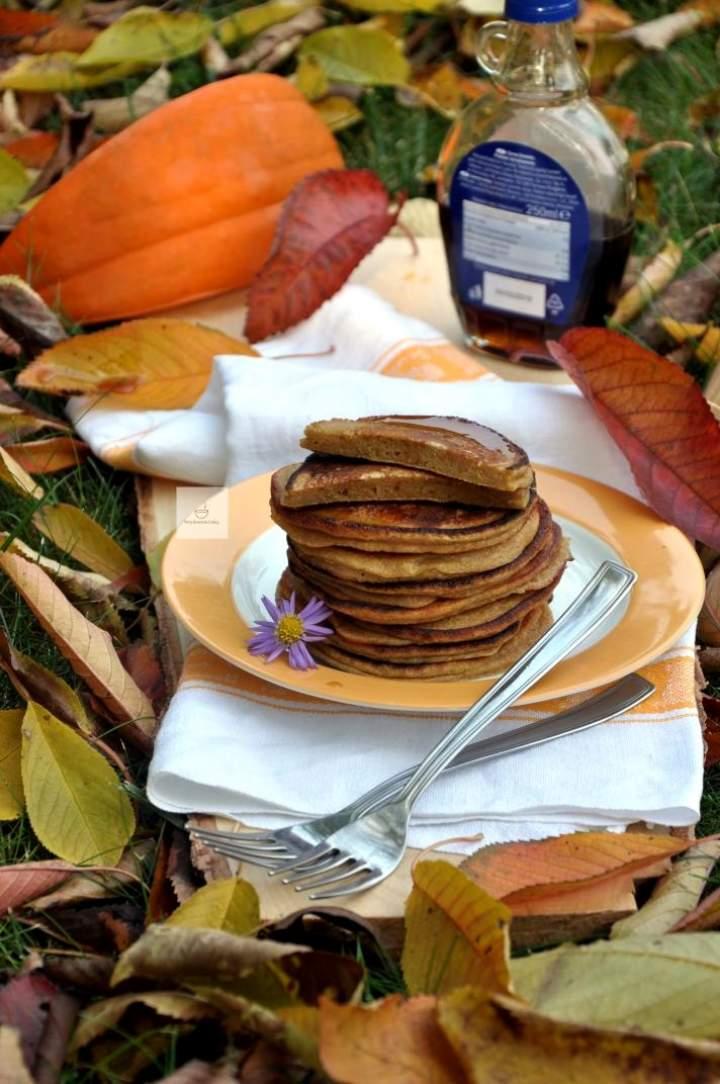 Pancakes dyniowe na mące razowej