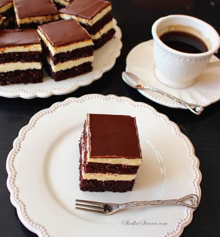 Ciasto Czekoladowe z Kremem Adwokatowym