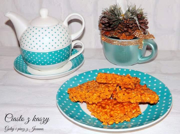 Ciasto z kaszy orkiszowej półekspandowanej Cenos