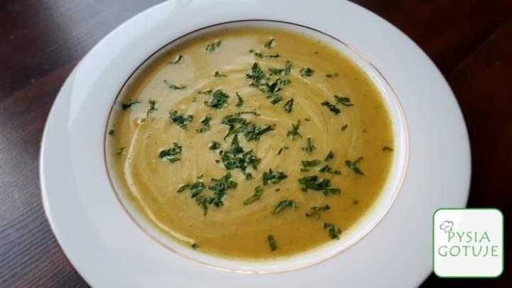 Zupa krem kalafiorowo-brokułowa