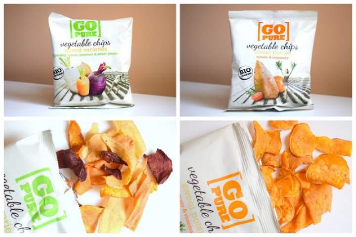 Ekologiczne i bezglutenowe chipsy warzywne Go Pure :)