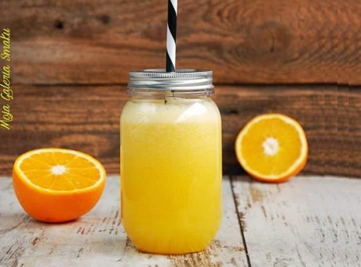 ananas + pomarańcza + imbir