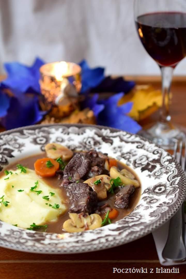Boeuf bourguignon, czyli wołowina po burgundzku