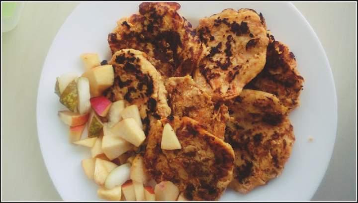 Placuszki dyniowo-kokosowe (low carb)