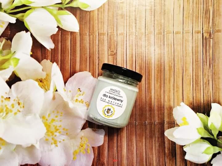 Miodowe masło do twarzy i ciała dla królewny od Bee Natural