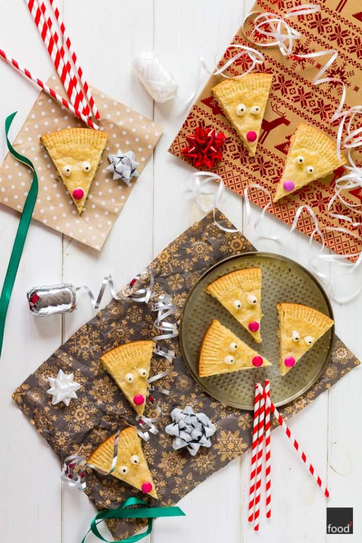 Rudolph shortbread – ciasteczka maślane w renifery