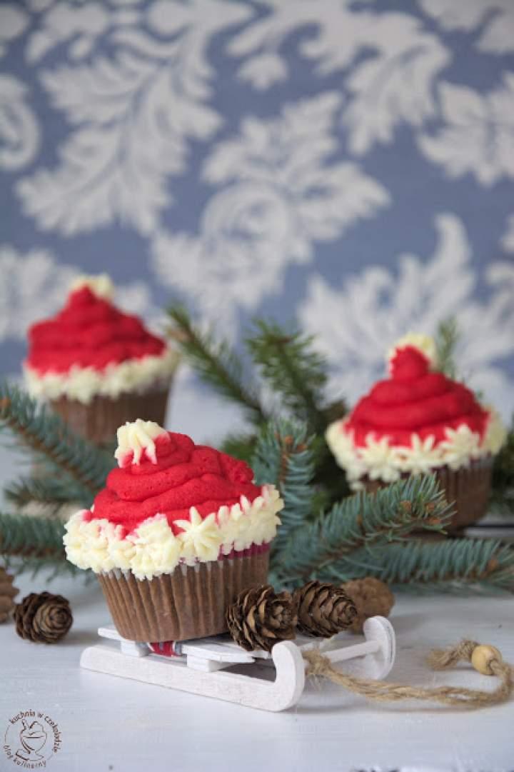 Mikołajkowe muffinki