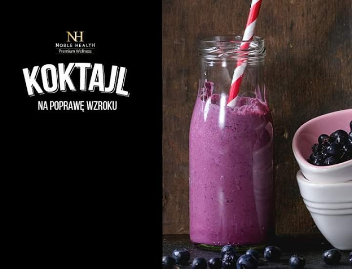 mleko sojowe + borówki lub jagody + pekan + morele + sezam + syrop klonowy + kolagen z witaminą C