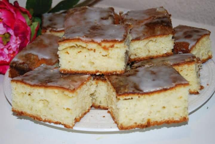 Ciasto ucierane z serkiem grani