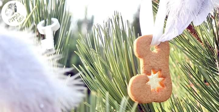 Pierniczki z okienkiem na choinkę, Pepparkakor
