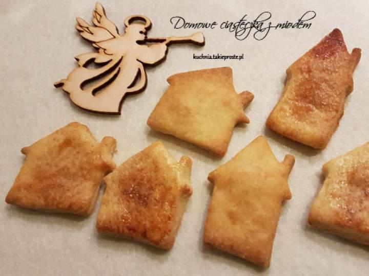 Domowe ciasteczka z miodem