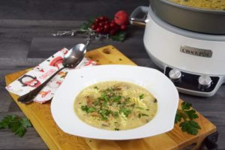 Zupa grzybowa zwolnowaru