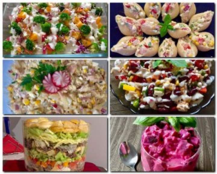 Najlepsze przepisy na sałatki! 15 propozycji :)