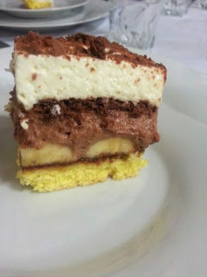 Ciasto Banuti – bananowe z nutellą