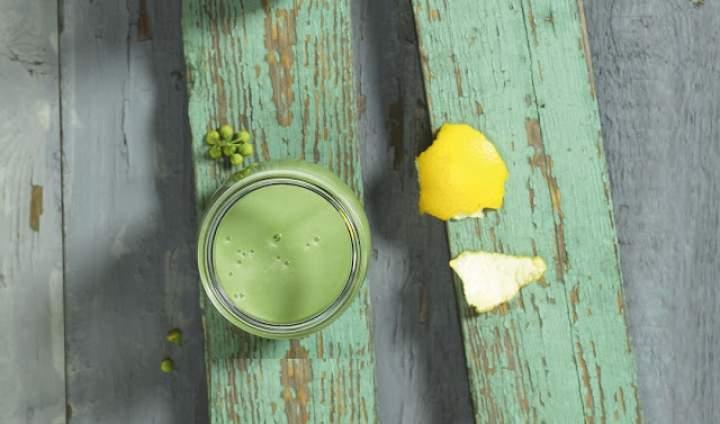 awokado + chlorella + pomelo + cynamon