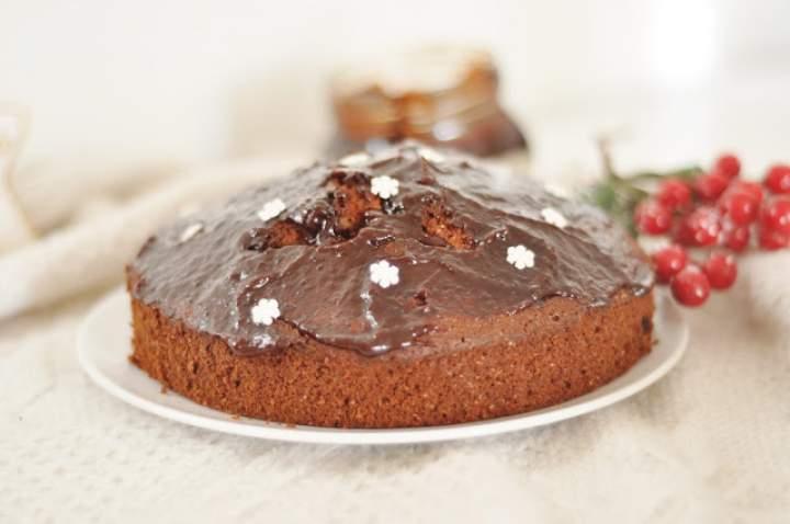 Pełnoziarniste ciasto piernikowe z bakaliami