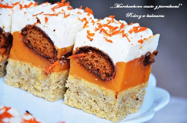 ,,Marchewkowe ciasto z piernikami''